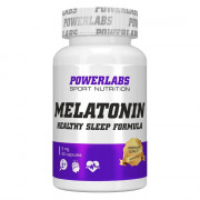 Мелатонин  5 мг POWERLABS MELATONIN  60 капс.