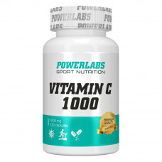 Витамин С 1000 POWERLABS 90 капс.