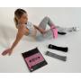 Набор тканевых резинок 3 в 1 Pro100 FORLIFE - для фитнеса
