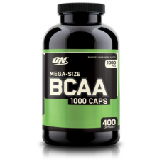 Бца Optimum Nutrition BCAA 1000 400 капс.