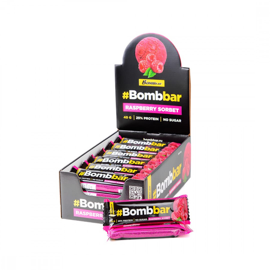 Протеиновый батончик Bombbar в шоколаде 40 г