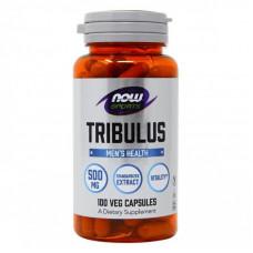 Трибулус Нау - Now foods Tribulus 500 mg 100 капсул
