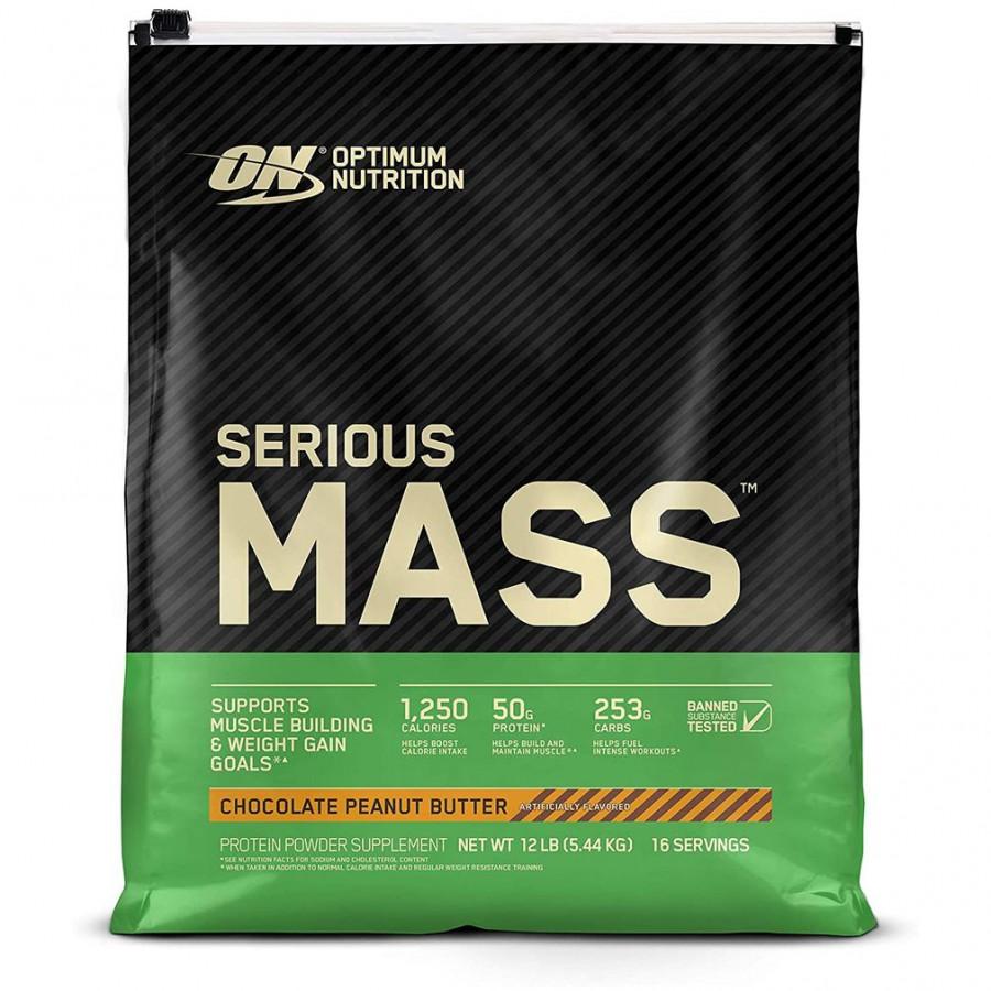 Гейнер Serious Mass Optimum Nutrition 10lb - 5400 г