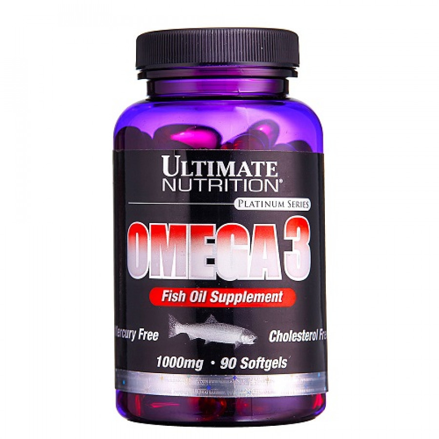 Омега 3 Ultimate Nutrition Omega 3, 90 капсул