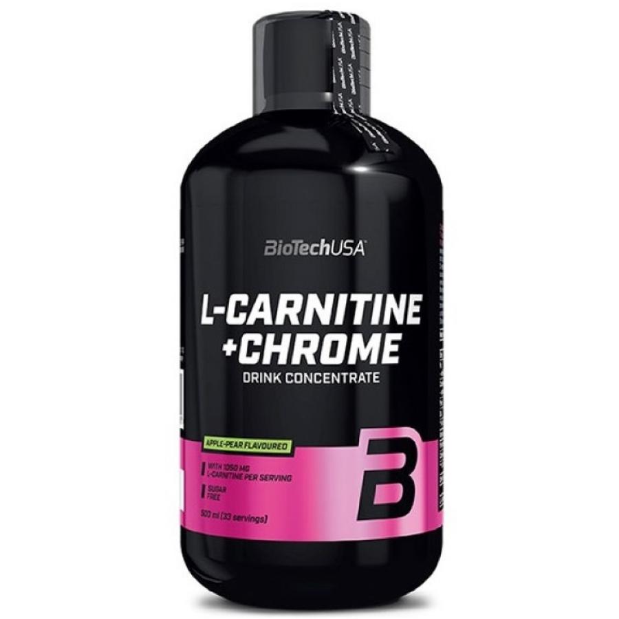 Л-Карнитин BioTech L-Carnitine + Chrome Liquid 500 мл.