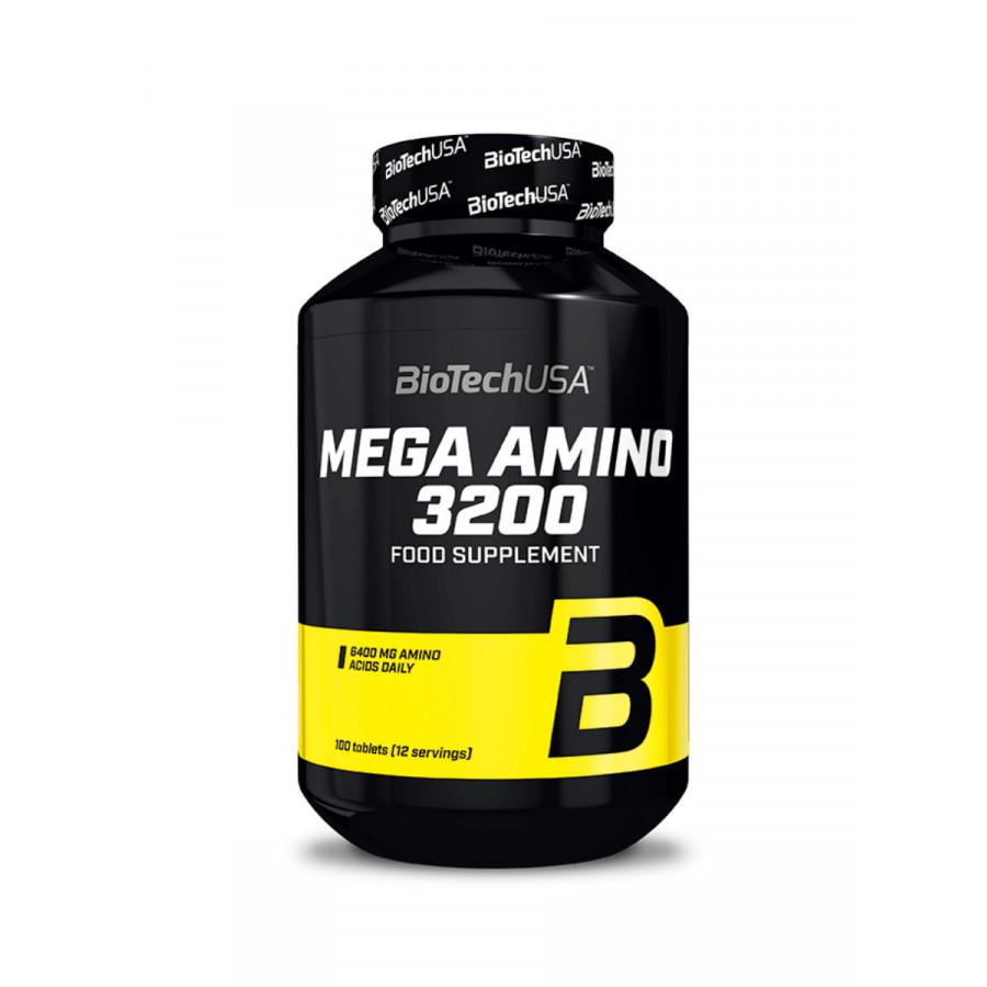 Аминокислоты Mega Amino 3200 Biotech USA 100 таб