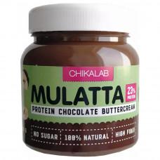Протеиновая шоколадная паста с фундуком Chikalab Mulatta 250 г