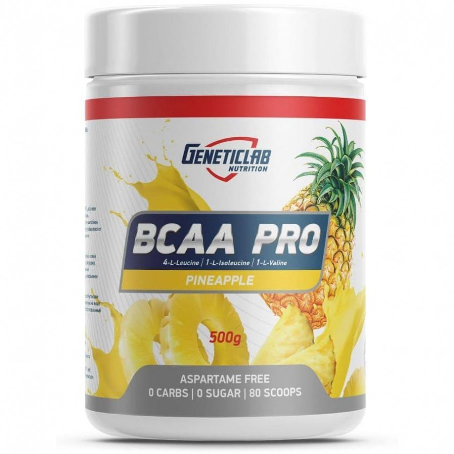 Бца Geneticlab Nutrition BCAA Pro Powder 500 г
