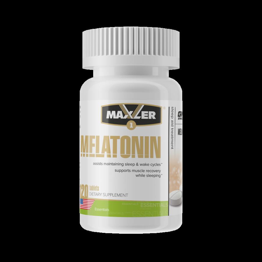 Мелатонин - Maxler Melatonin 3 мг 120 таб.