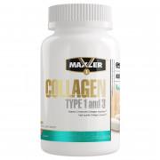 Коллаген Maxler Collagen type 1 and 3, 90 таб.