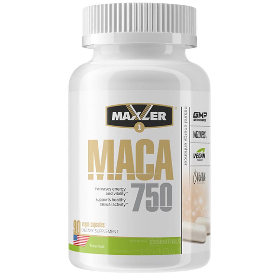 Мака Maxler Maca 750 мг, 90 капсул