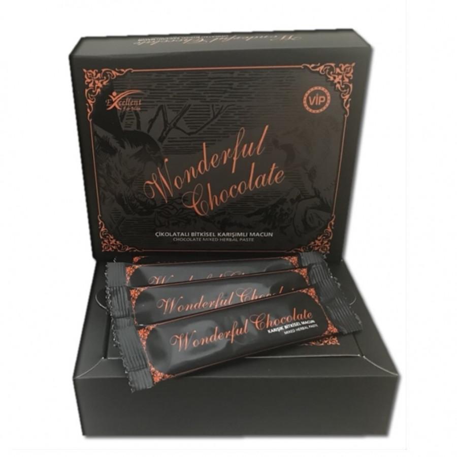 Эпимедиумная паста Чудесный шоколадный Wonderful Chocolate 15 г - 12 шт