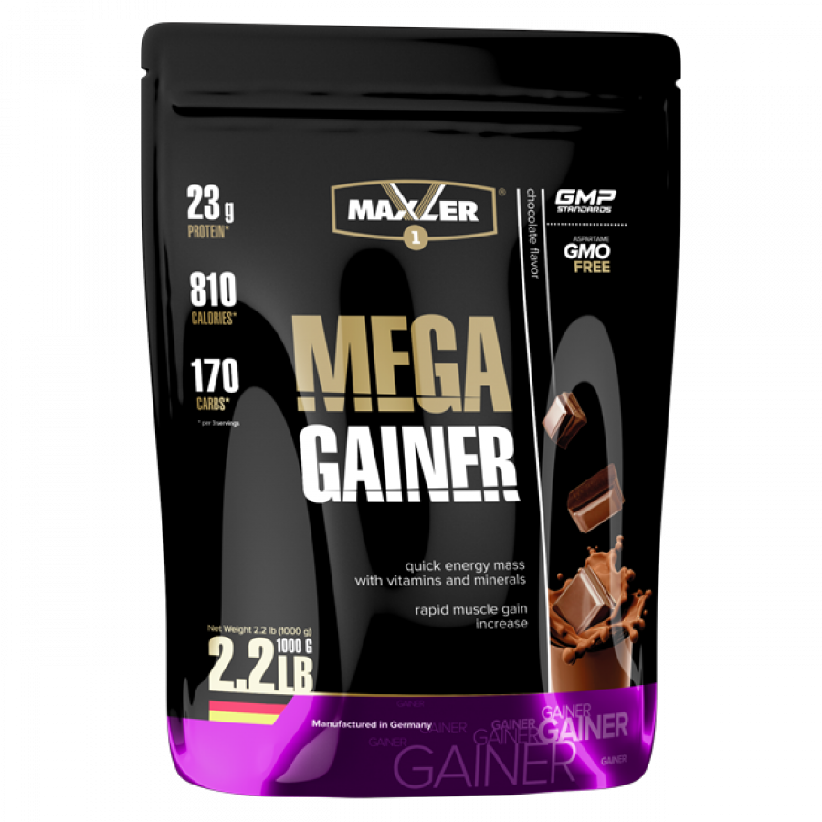 Гейнер Maxler Mega Gainer 1000 г