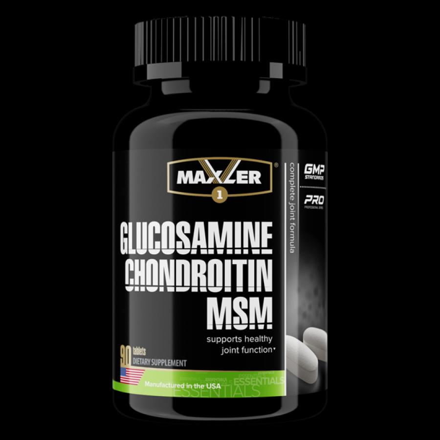 Глюкозамин Хондроитин МСМ Maxler 90 таб