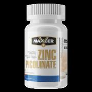 Цинк MAXLER ZINC PICOLINATE 50 мг.