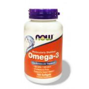 Омега 3 Now Omega 3, 1000 мг. 100 капсул