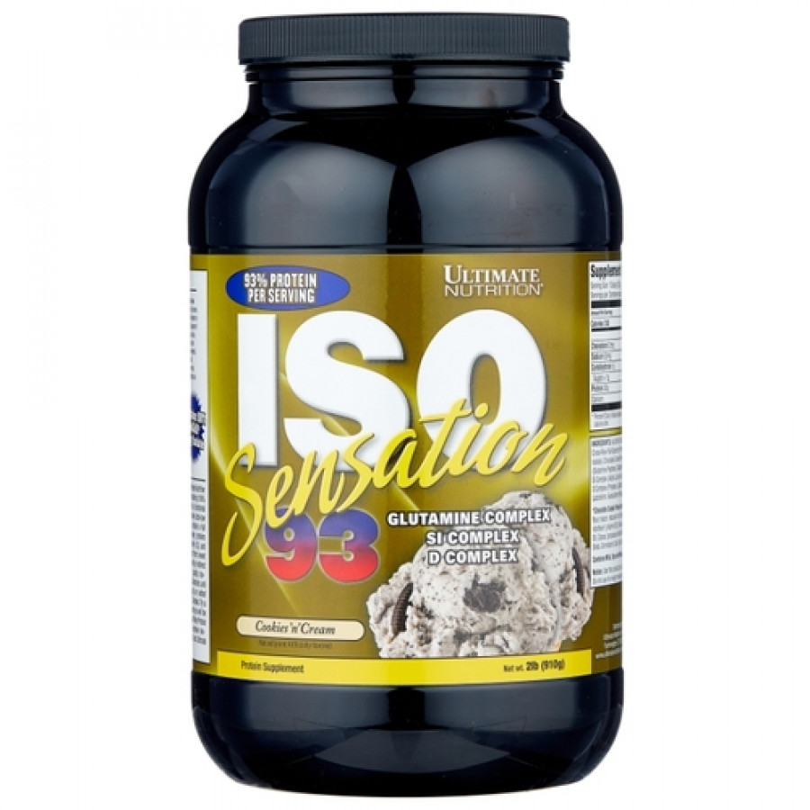 Протеин Изолят Iso-Sensation 93 Ultimate Nutrition 910 г.