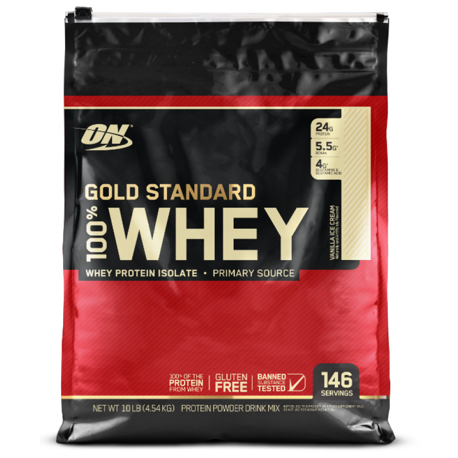 Протеин Optimum Nutrition 100% Whey Gold Standard 10lb - 4500 г