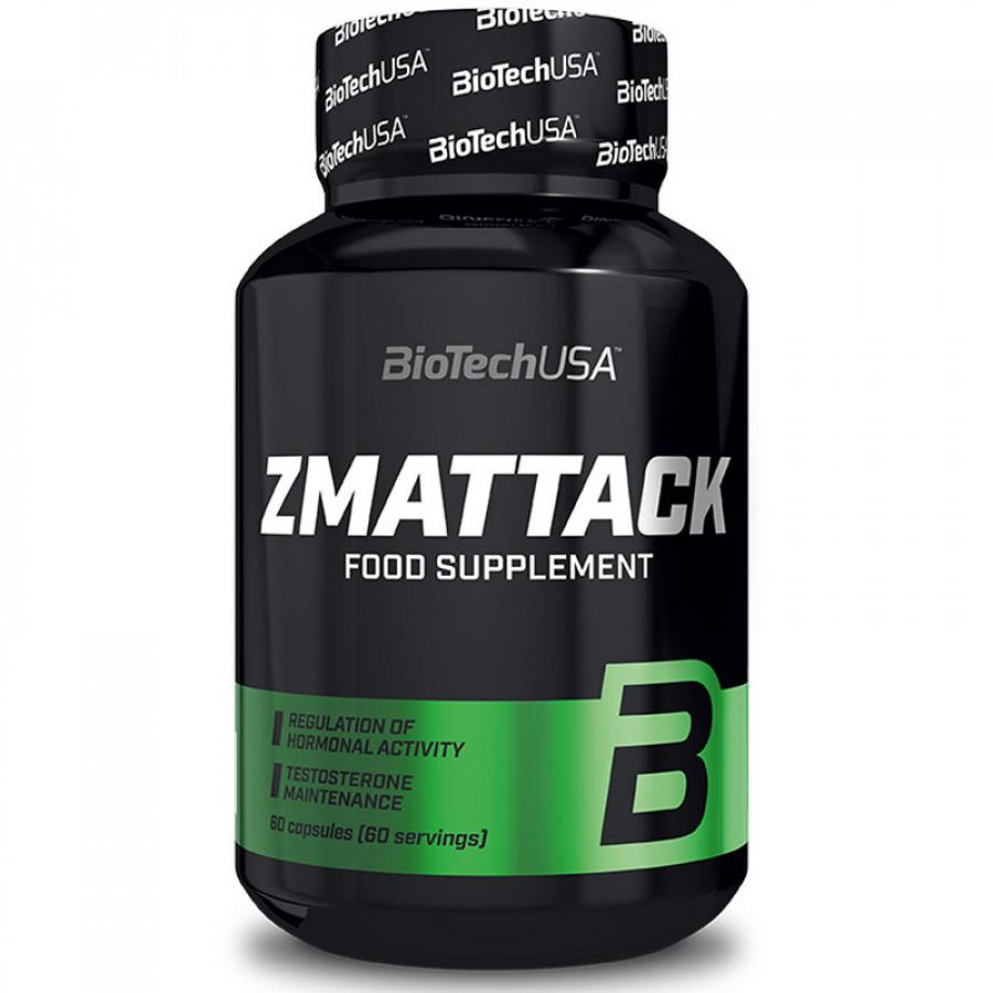 ЗМА Biotech Zma ttack 60 капс.