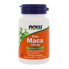 Мака - Now Maca 750 мг. 30 капсул