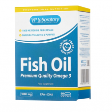 Омега 3 - Fish Oil  VP Laboratory 60 капс.
