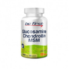 Глюкозамин Хондроитин МСМ Be Ferst 90 таб.