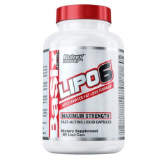 Жиросжигатель Липо 6 - NUTREX LIPO 6 BASIX 60 капсул
