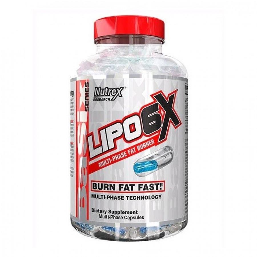 Жиросжигатель Lipo-6X 120 капсул